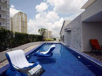 Photo for nice apartment 2 bedrooms bangkok center