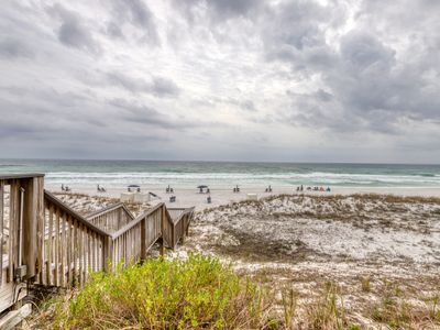 Photo for Pretty 1st Floor Condo! Gulf Front, Pool, Beach Boardwalk, in Heart of Destin