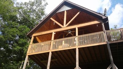 Photo for Secluded centrally located cabin near the SMN Park, Pigeon Forge and Gatlinburg