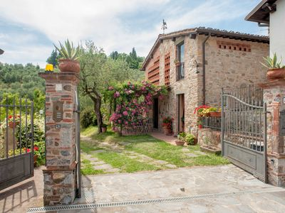 Photo for Romantic farmhouse villa in Lucca to sleep 7 guests with private pool and wi-fi