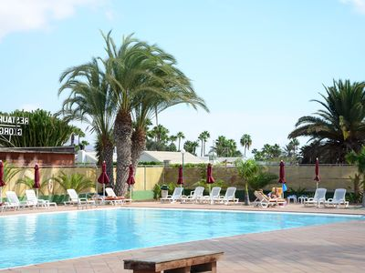 Photo for Apartment in a vacation complex, centrally located and near the beach