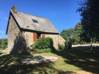 Photo for 3BR Cottage Vacation Rental in Couesmes-Vaucé