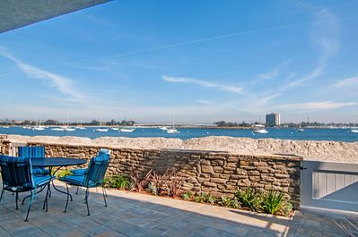 Breathtaking Views from large bayfront patio