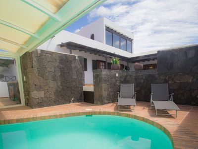Photo for Private pool, FREE WIFI and tranquility 150 m from the beach