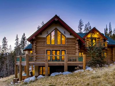 Photo for Enjoy Privacy and Great Amenities in the Ultimate Colorado Mountain Lodge!