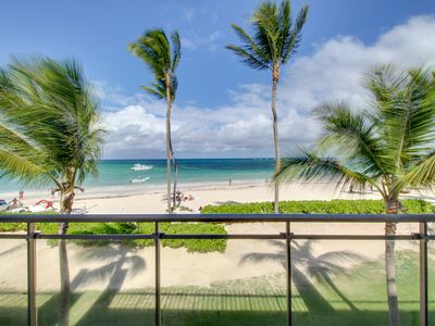 Photo for NEW LISTING! Luxury oceanfront condo w/ocean views & shared pool - walk to beach