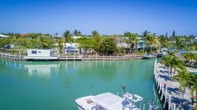 Photo for Large Waterfront Home, Dock & Private Pool on Yacht Harbor Island!