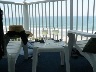 Photo for Newly Renovated SeaWatch! Oceanfront 2BR/2BA-Corner w/Wrap-Balcony!