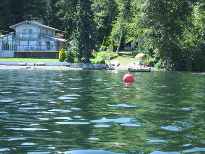 Photo for Private Waterfront Shuswap Lake-Entire House;130 Feet of Prime Waterfront