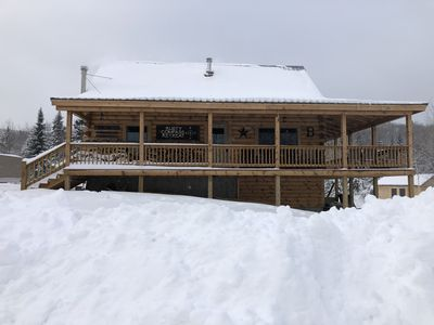 Photo for Direct SNOWMOBILE trail access! Magalloway Views! Outdoor Lovers Dream!