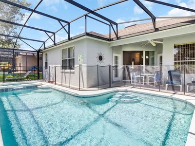 Photo for CTL414 Disney Towers- 4 Bedroom Pool/ Spa and Game Room