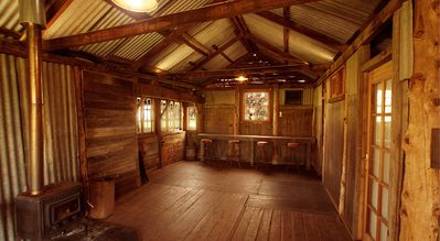 Photo for Restored rustic shearing shed farmstay