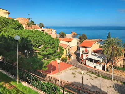Photo for Apartment, Castel di Tusa  in Cefalù - 4 persons, 1 bedroom