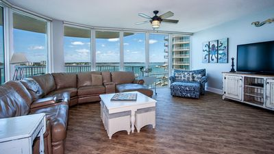 Photo for CRB0607 - Spacious Waterfront Condo /w S - Condo
