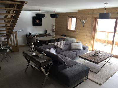 Photo for THE PEARL OF THE ALPS - New duplex of charm and luxury in the heart of the Alps.