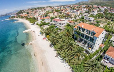 Photo for Amazing accommodation Palms along the beach and sea with stunning view on Split