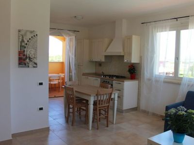 Photo for Beautiful apartment for 6 people with WIFI, pool, A/C, TV, balcony and parking