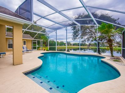 Photo for The view is everything!  Large Pool with Lake View!