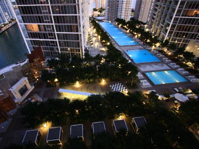 Photo for Luxury Waterfront Condo In The Urban Oasis At Icon-Brickell,  W Resort Free SPA