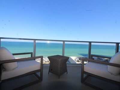 Photo for Hyde Luxurious Ocean Front 2 Bedroom Apt On The Beach