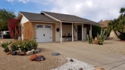 SNOWBIRDS WELCOME Adorable Casita, fully furnished with garden patio.