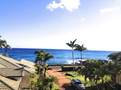 Photo for Hale Pohaku Kai: Ocean View Home Along The Sunset Wall