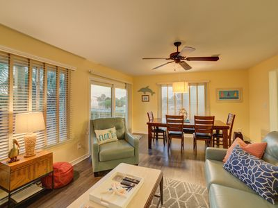 Photo for Tranquil Gulf View Townhome will be Your Happy Place