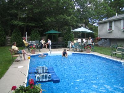 Photo for Pool House.  Cute, Clean & Cozy