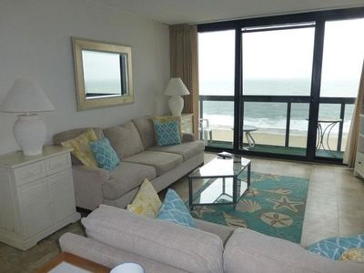 Photo for Oceanfront Efficiency Condo with Amazing Amenities