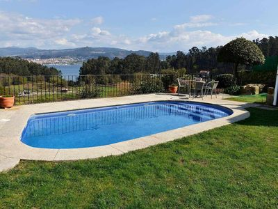 Photo for Charming, historical stone house with swimming pool near the beach