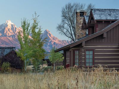 Photo for Enjoy your JH Summer at this Elegant Cabin, Only Minutes from the Nat'l Park!
