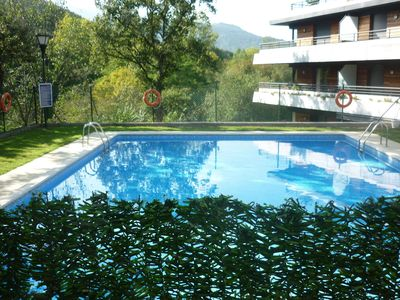 Photo for Nice house at the foot of the mountains in private complex with swimming pool