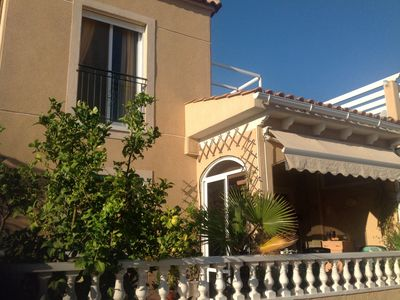 Photo for Family friendly holiday home. Community pool with children's pool. Private road.