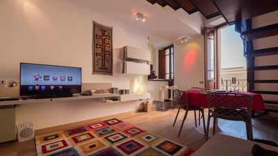Photo for Modern apartment in a Palazzo Nobile, near harbor, train and bus station.