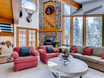 Photo for Mountain House with Forest & Mt. Baldy Views, BBQ, Hot Tub...Get away from it all!