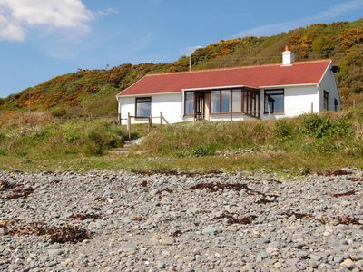 Photo for The Haven nestling in an idyllic setting on the shore of Luce Bay in Galloway a