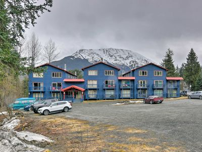 Photo for Mountain-View Condo at the Base of Alyeska Resort!