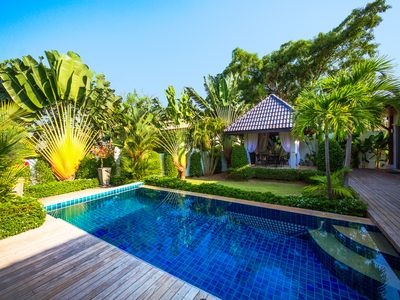 Photo for POOL VILLA HENI 3BR NAI HARN BEACH