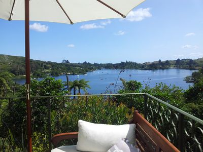 Photo for Large holiday villa with amazing lake views nested in wild bird paradise.