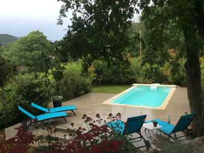 Photo for Beautiful level villa with pool on the hill, amazing views!