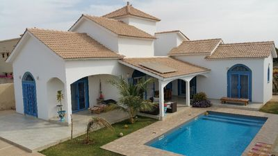 Photo for Rent very beautiful new modern villa of 2 bedrooms with swimming pool