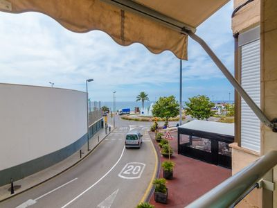 Photo for Club Villamar - Nice apartment overlooking the sea just 60 meters from the beach