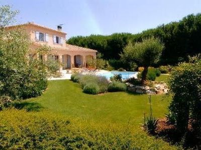 Photo for Rural Provencal farmhouse between sea and countryside