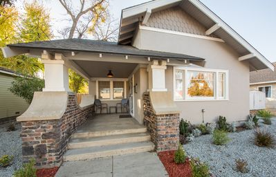 Photo for Crush Pad - 3BR/1.5BA updated 1920's Bungalow, Downtown Paso w/ Farmhouse motif.