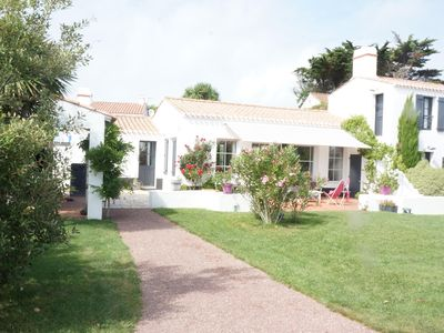 Photo for 50m from the beach Madeleine, charming bright and quiet house