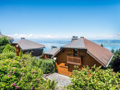 Photo for Chalet overlooking Lake Geneva