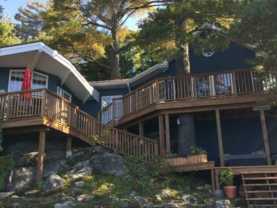 Photo for 3 Bedroom With Bunkie, 1.5 Bathroom With Stunning Lake Views