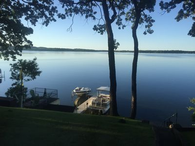 Photo for Charming cottage with vast views on Pelican Lake
