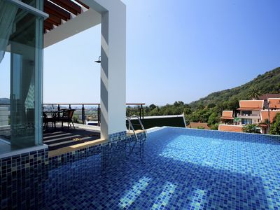 Photo for Kata Sea View Villa, Pool & Chef A2