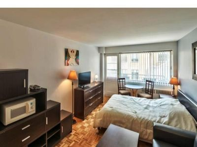 Photo for #493 Bright, Open, Well-Furnished Studio APT in Plateau Mont-Royal